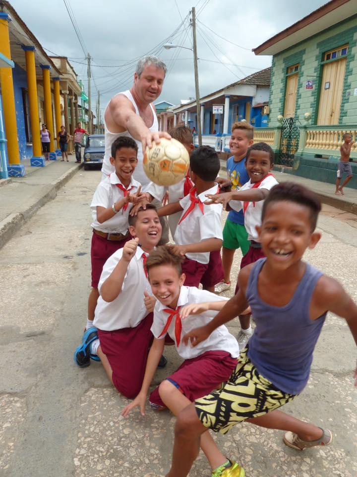 enfants rue Santiago