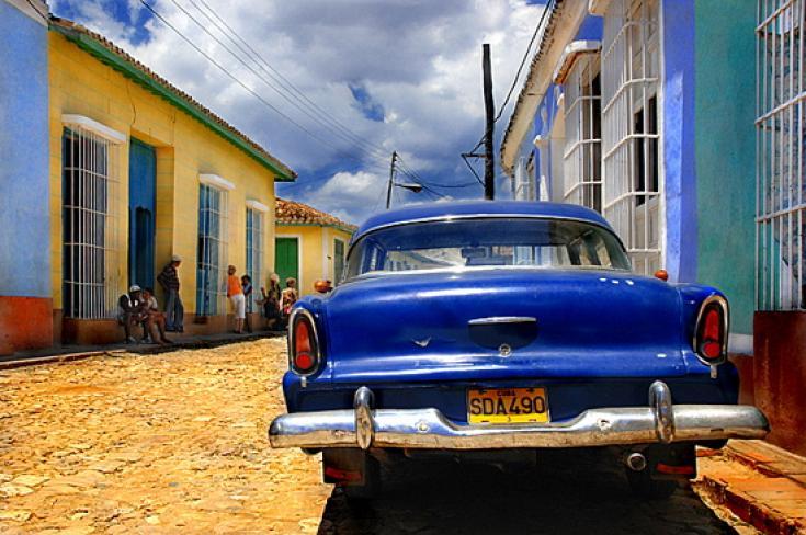 Calle de Trinidad Cuba